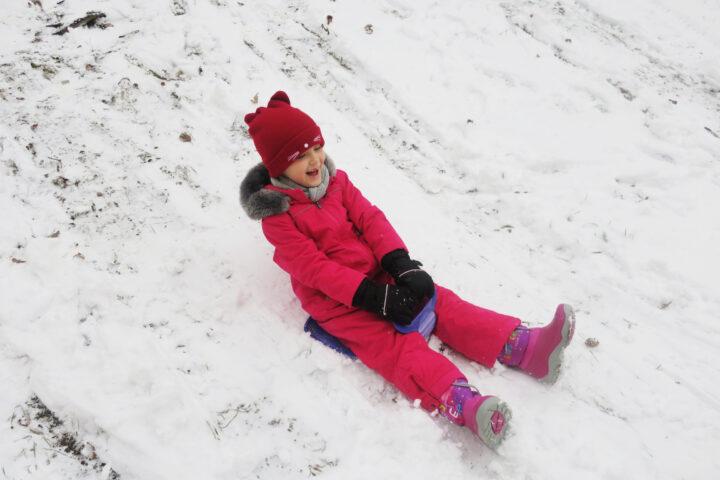 Szaleństwa na śniegu